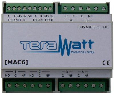 Mac6 module acquisition de données Terawatt