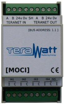 Moci module impulsionnel acquisition de données Terawatt