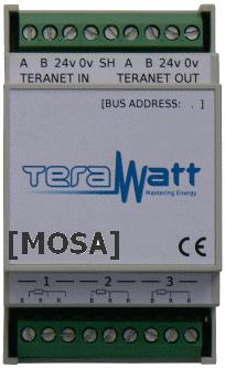 Mosa module acquisition analogique de données de Terawatt