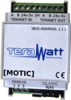 Motic module acquisition impulsionnel et conversationnel avec les compteurs de Terawatt